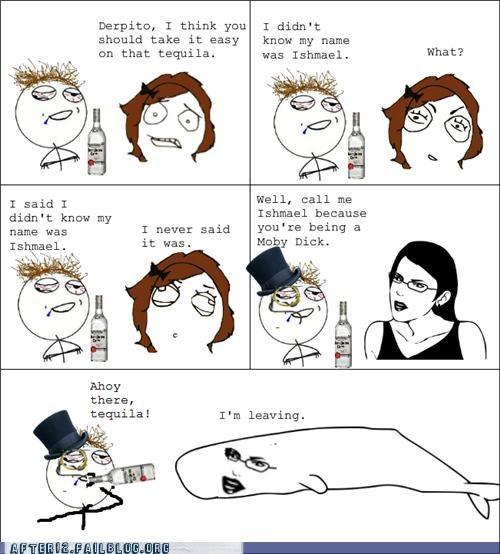 fancy,moby dick,monocle,rage comic,tequila,top hat,whale