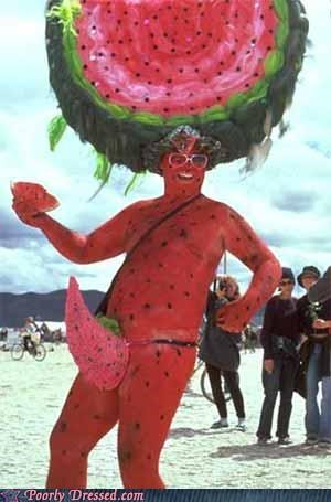 costume p33n watermelon