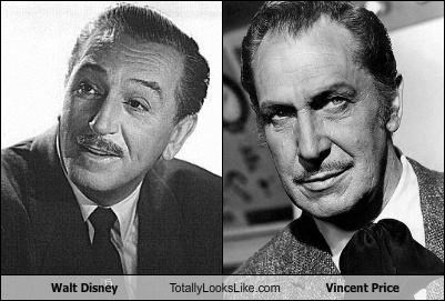 Walt Disney Totally Looks Like Vincent Price