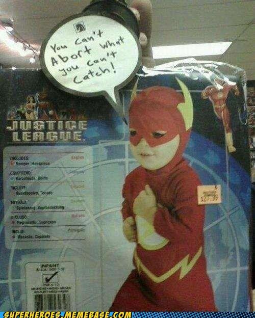 costume flash kid Random Heroics