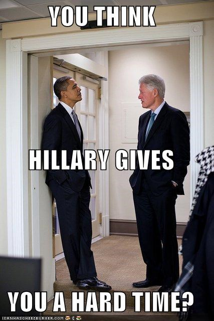barack obama bill clinton Hillary Clinton political pictures - 5204770816