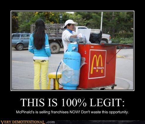 hilarious McDonald's seems legit wtf - 5205250560