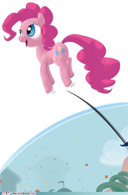 4th wall art coming to a town near you hey guise pinkie pie - 5205648896