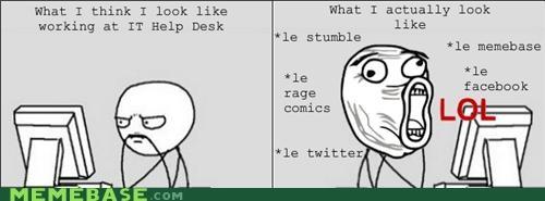 funny,it,meta,Rage Comics