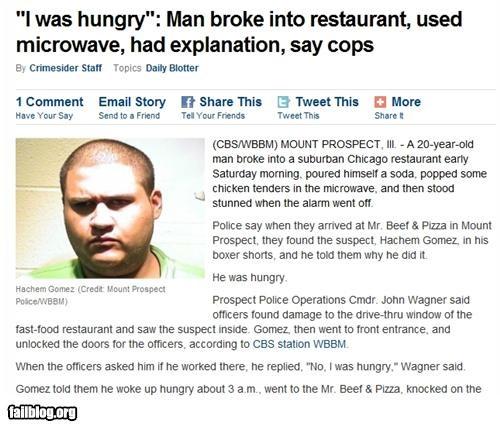 failboat food g rated Probably bad News restaurant stupid criminals - 5205898752