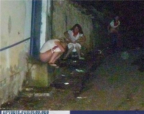 drunk outside peeing - 5205909504