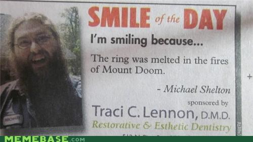 best of week IRL Lord of the Rings news smile of the day - 5205992960