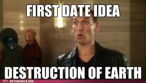 christopher eccleston doctor who meme television We Are Dating - 5205994240