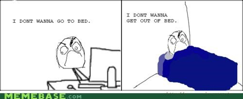 bed,best of week,complaining,Rage Comics,sleep
