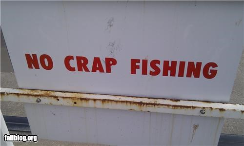 failboat fishing g rated oddly specific poop signs warning - 5206040576