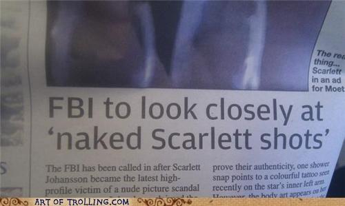 FBI,IRL,leaked pics,scarlett johansson