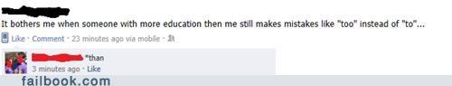 education grammar irony spelling - 5206188800
