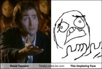 actor actors David Tennant imploring meme meme face what what the hell