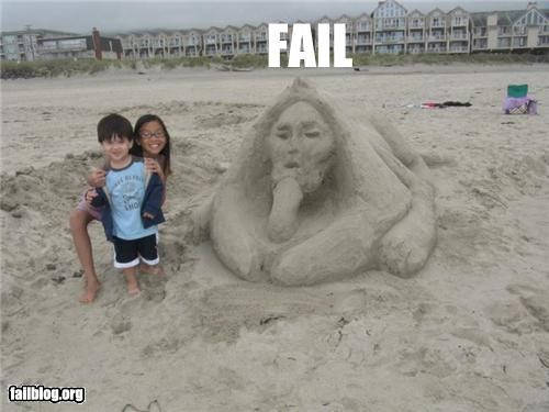 failboat innuendo not for kinds sand sculpture v4g wtf - 5206210048