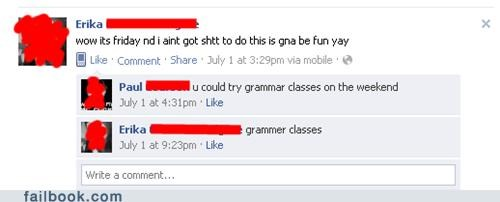 facepalm grammar spelling witty reply - 5206241280