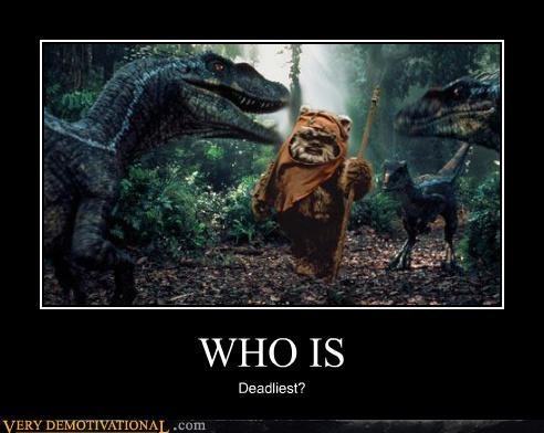 ewok hilarious raptors star wars - 5206309632