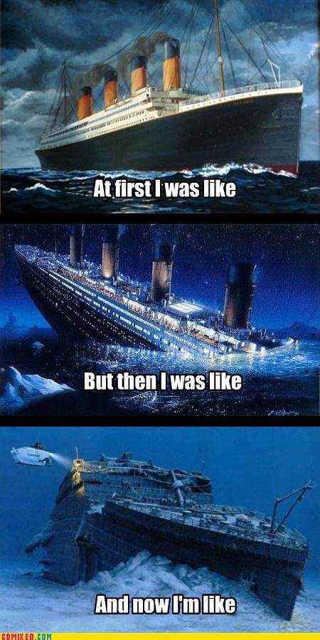 and then but then i glacier history titanic underwater - 5206312704