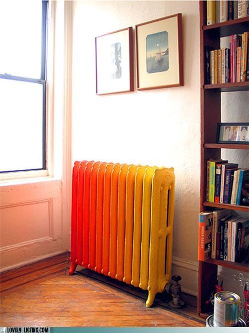 paint,radiator