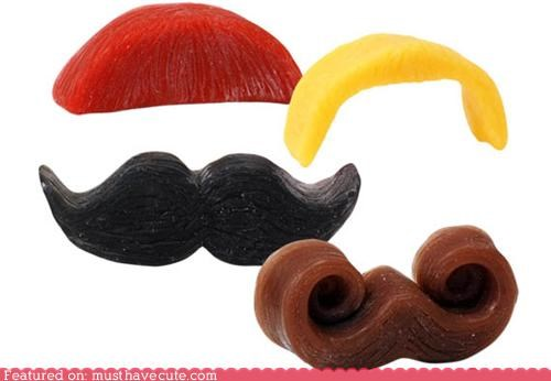 hand soap mustache novelty soap