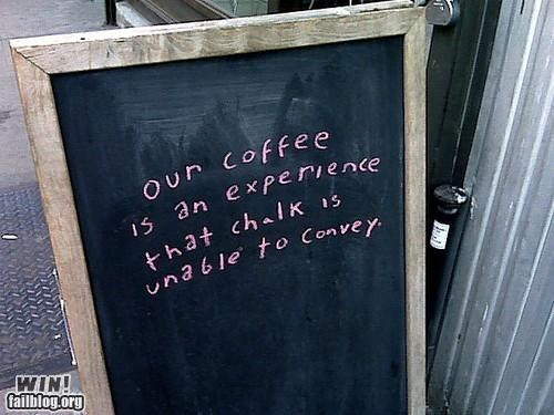 business cant-explain chalk coffee restaurant sign - 5206435072