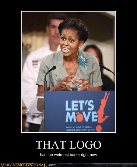 hilarious logo Michelle Obama Weirdest Boner - 5206498816