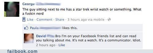 busted nerd Star Trek watch - 5206689536