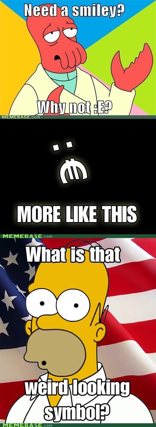 america,euro,homer,Reframe,smiley,Zoidberg