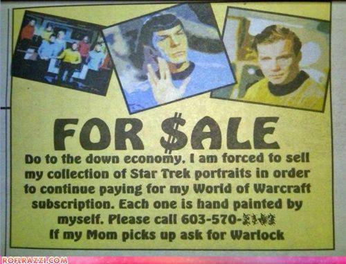 Ad funny Sad sci fi Star Trek - 5207338240