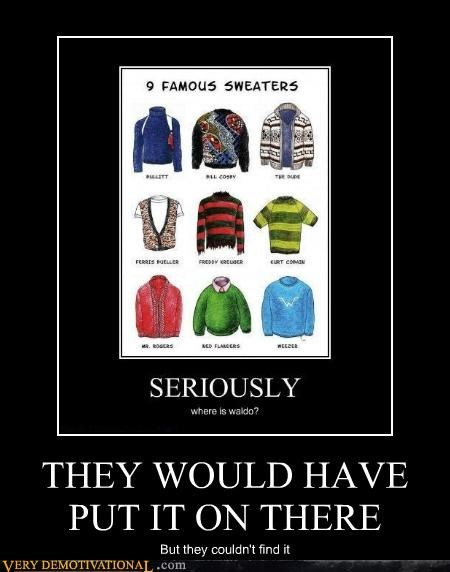 hilarious missing sweaters waldo