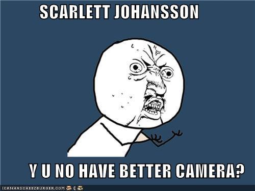 camera scarlett johansson shots Y U No Guy - 5208651008