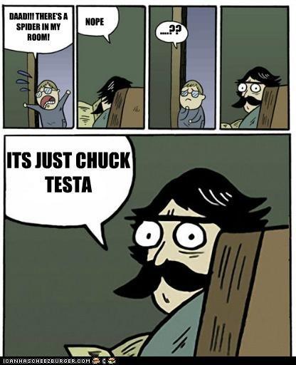Chuck Testa nope room Sad spider - 5208726272