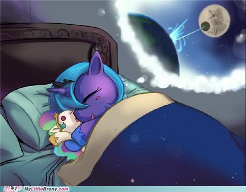 art banished dreams luna princess celestia the moon - 5208880640