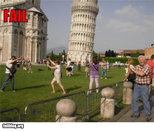 failboat g rated Hall of Fame Italy leaning tower of pisa tourists Travel - 5209106688