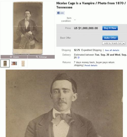 Nic Cage Is Immortal,This Looks Legit