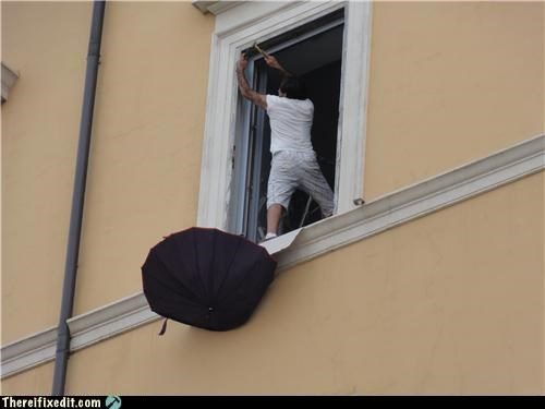 heights,Professional At Work,safety first,umbrella
