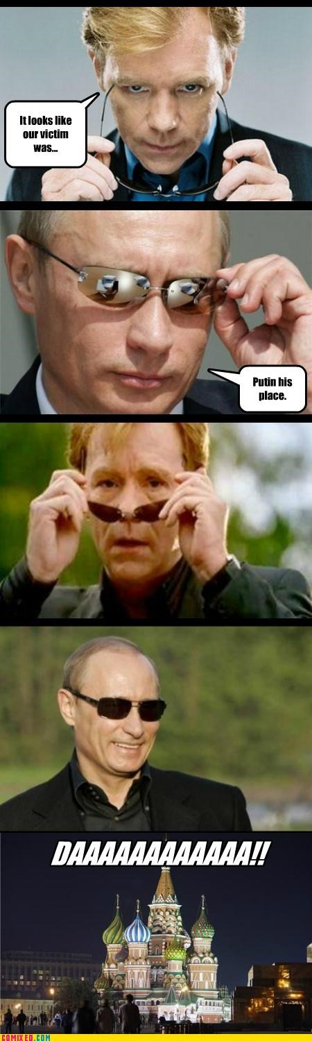 awwww yea best of week csi daaaaa glasses meme Moscow Putin the internets