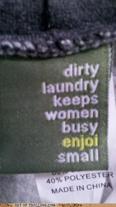 IRL,laundry,tag,women
