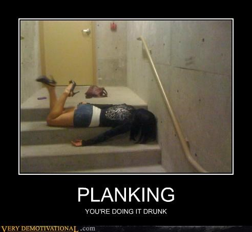 drunk hilarious Planking Sexy Ladies - 5209618432