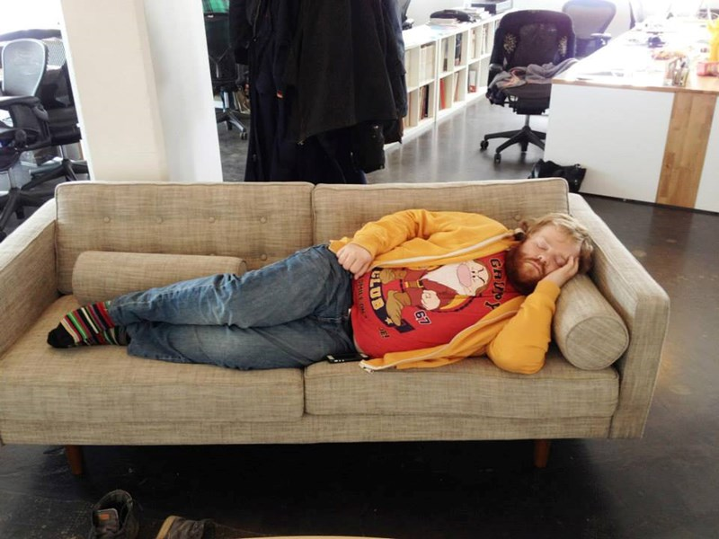 Here's Why You Never Take a Nap at Work