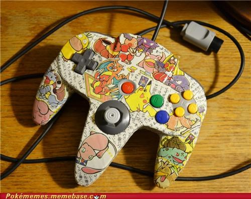 awesome controller custom nintendo 64 toys-games want