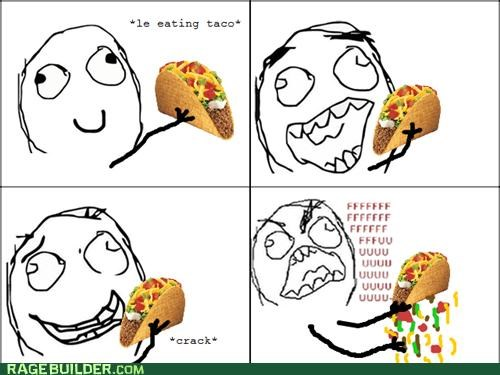 FAIL rage Rage Comics taco salad - 5209713408