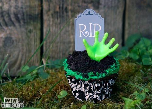 cupcake dessert food horror treat zombie zombie apocalypse - 5209982464