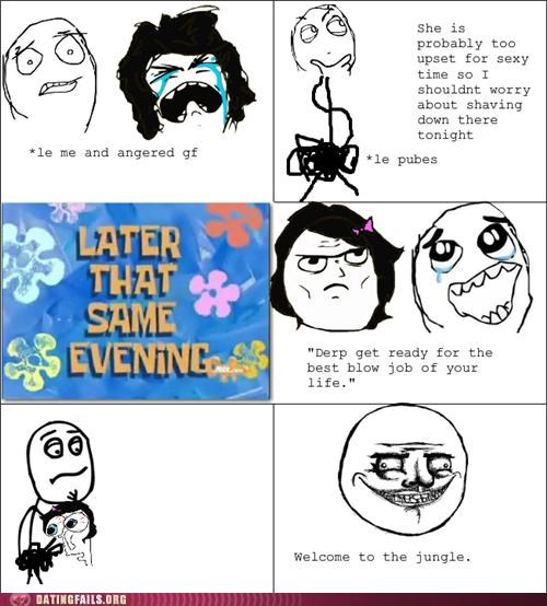 bj comic oral sex pubes rage comic shaving We Are Dating - 5210052352