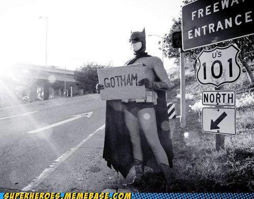 batman batmobile gotham hitchhiking Super Costume - 5210056192