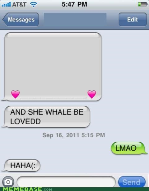 iphone Memes puns whale - 5210335488
