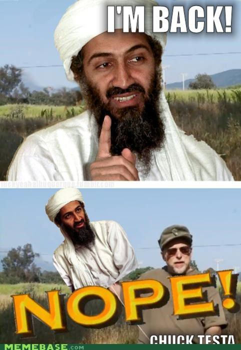 bin Laden Chuck Testa nope osama terrorism - 5210479360