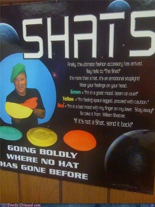 beret Hall of Fame hats shats Star Trek William Shatner - 5210617344