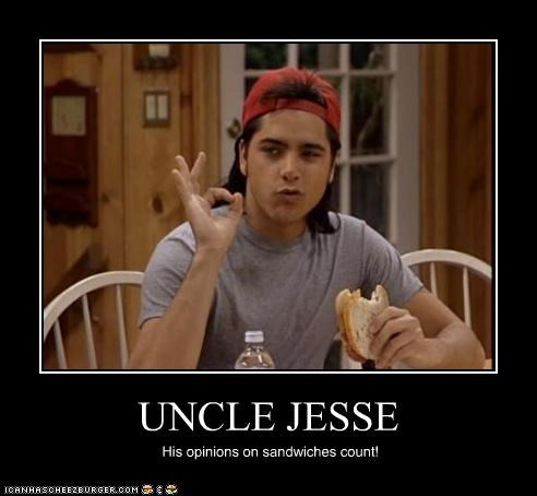 food,full house,john stamos,opinions,roflrazzi,sandwiches,uncle jesse
