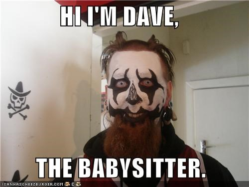 babysitter best of week dave ICP metal weird kid - 5211175680