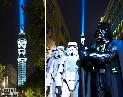 darth vader lightsaber nerdgasm perspective photography staging star wars - 5211336704